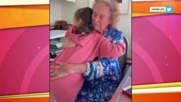 Sheinelle retrouve sa mère et sa grand-mère pour la première fois en plus d'un an - voir la photo!