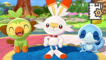 Pokémon Sword And Shield: Choisissez Le Pokémon De Départ, La