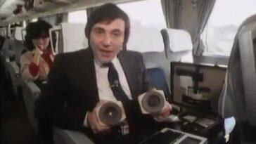 C'était donc en 1984 que nous essayions de recevoir votre email en voyageant en train (intestin: il y avait trop de bruit sur la ligne)