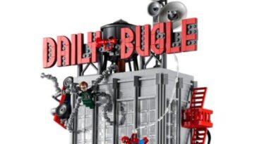 Lego a présenté le bugle quotidien de Marvel