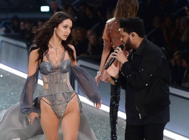 Bella Hadid et The Weeknd au Victoria's Secret Fashion Show 2016 'Crédit: PA