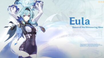 La nouvelle bande-annonce de Genshin Impact montre Eula en action