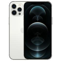 Vue avant argentée de l'iPhone 12 Pro Max 1