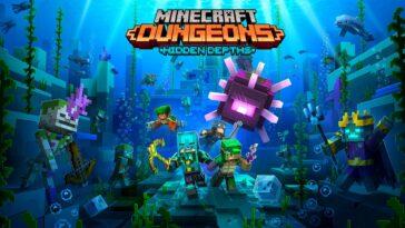 New Minecraft Dungeons Hidden Depths DLC Announced – Cute Slimes And Fresh Challenges!