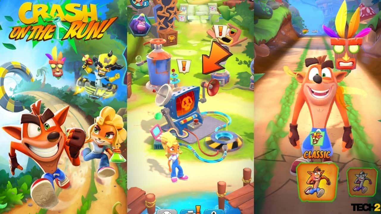 Crash Bandicoot: On The Run Review Un Jeu De