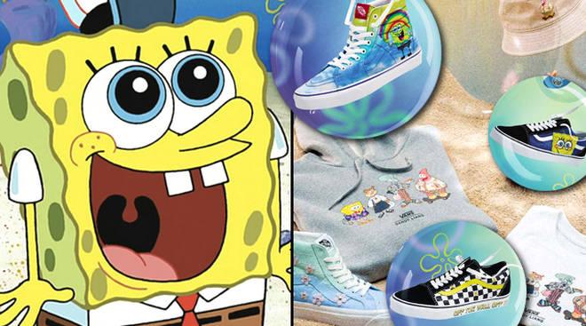 Vans lance deux nouvelles collections SpongeBob