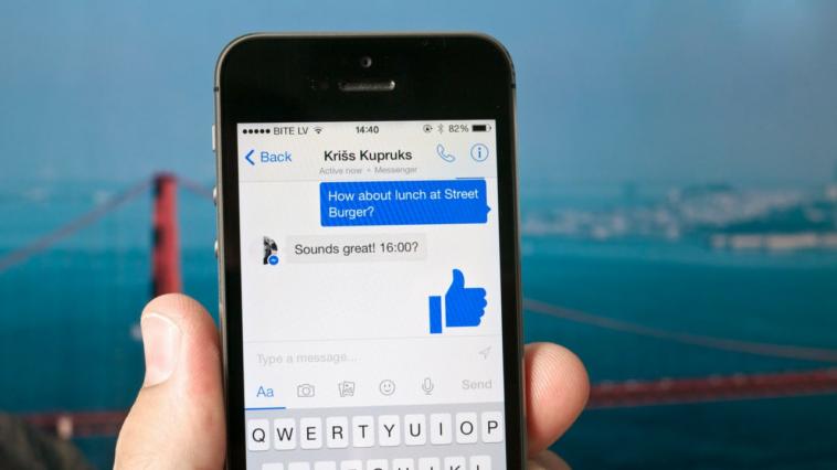 Mode sombre Facebook a disparu