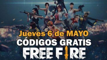 Free Fire Codigos 6 Mayo 2021 1.jpg