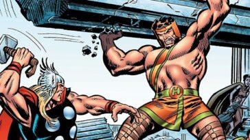 Hercules De Marvel Aurait Combattu Thor Dans Un Amour Douteux