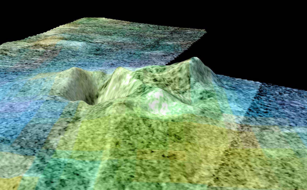 modèle de volcan