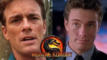 Jean Claude Van Damme Est Johnny Cage Dans Mortal Kombat 1995
