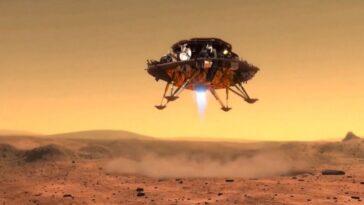 La Chine Tente Aujourd'hui Son Premier Atterrissage Sur Mars