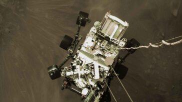 La Résistance Aux Radiations Est Intégrée Au Rover Perseverance Mars.