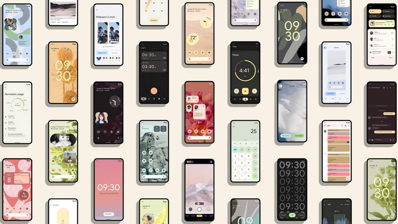 La Version Bêta Publique D'android 12 Est Maintenant Disponible: Nouvelles