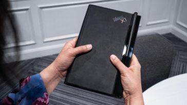 Le Lenovo Thinkpad X1 Fold Ultra Mobile A Changé Ma Façon