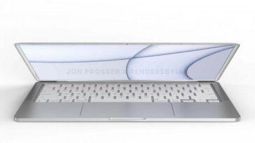 Le Prochain Macbook D'apple Fait Allusion Au Tout Nouveau Design