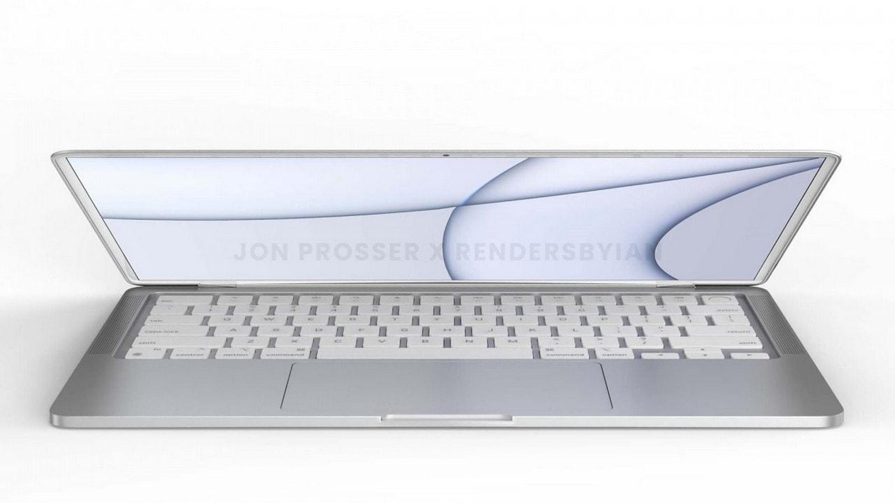 Rendu MacBook.  Image: YouTube / Jon Prosser