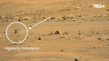 Le Rover Perseverance Capture Le Bourdonnement Distinct Du Cinquième Vol