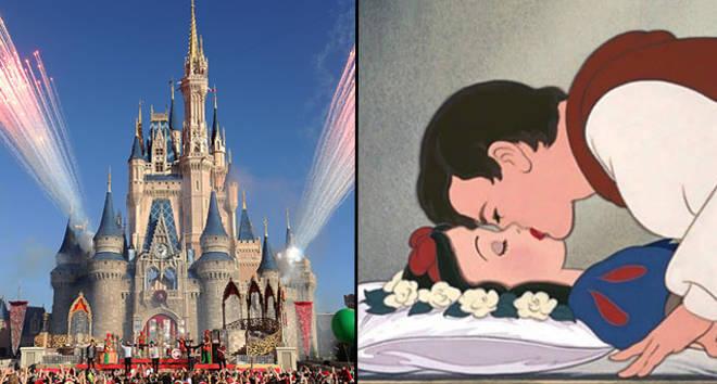 Le trajet de Blanche-Neige à Disneyland est critiqué pour avoir inclus un baiser non consensuel