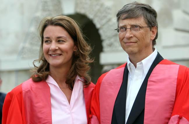 Bill et Melinda Gates.  Crédit: PA