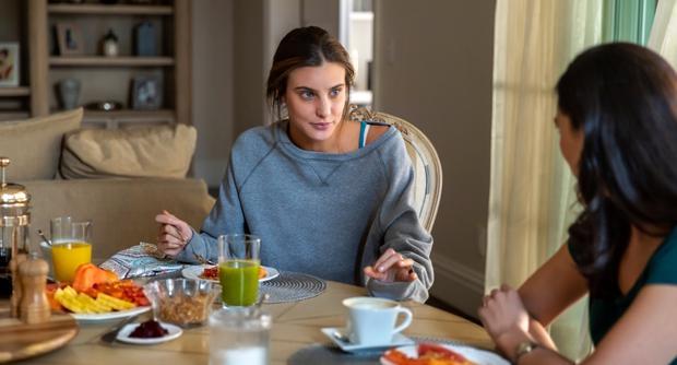 Michelle voulait vivre avec son père pendant un certain temps, mais Luis Miguel a refusé (Photo: Netflix)