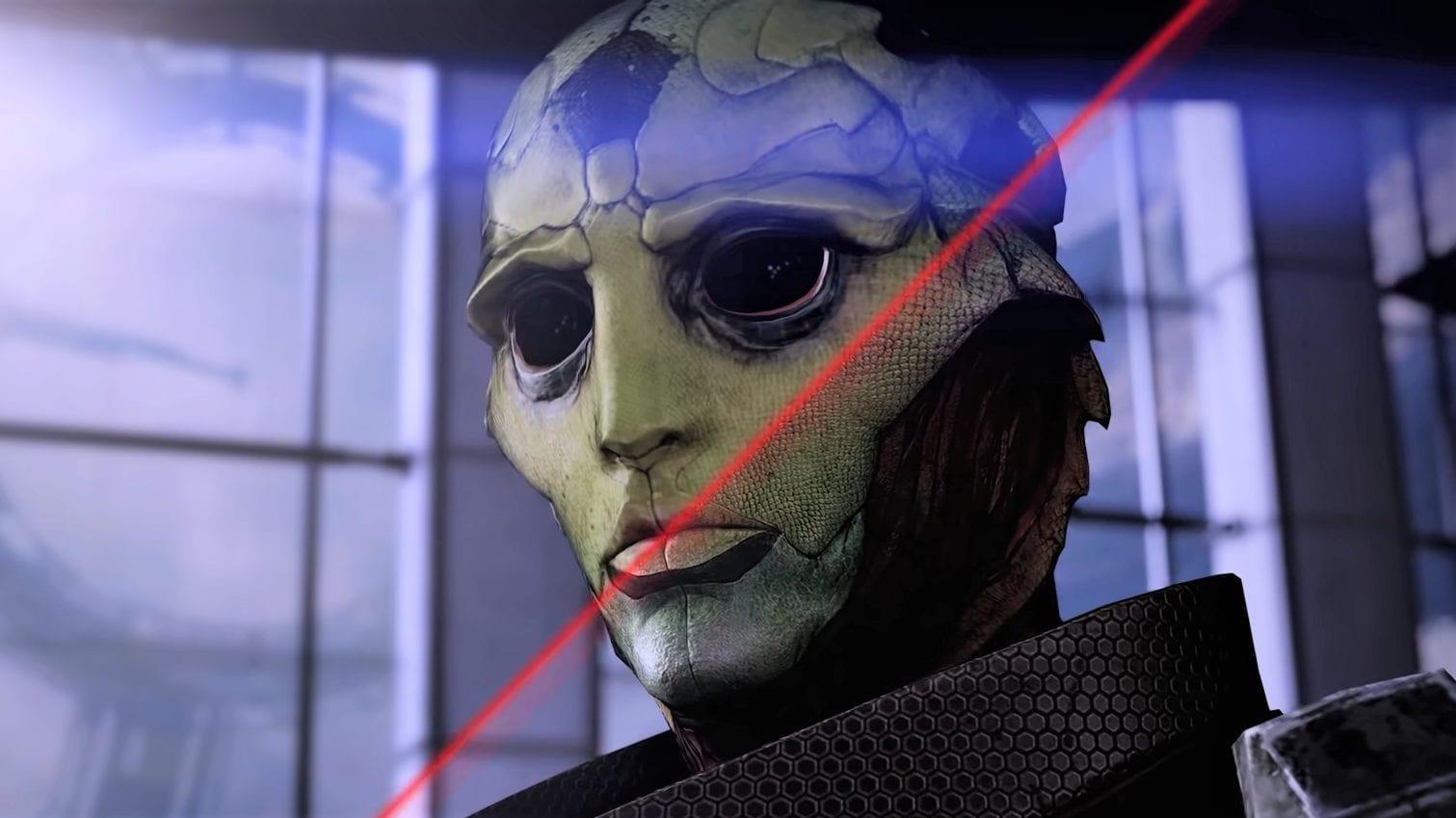 Comparaison de l'édition légendaire de Mass Effect Original