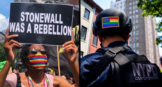 Police d'interdiction de la fierté de New York