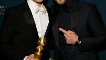 Rami et Sami Malek.  OK, ils se ressemblent beaucoup.  Crédit: PA