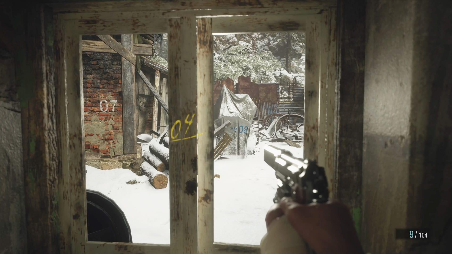 Resident Evil 8 - code numérique