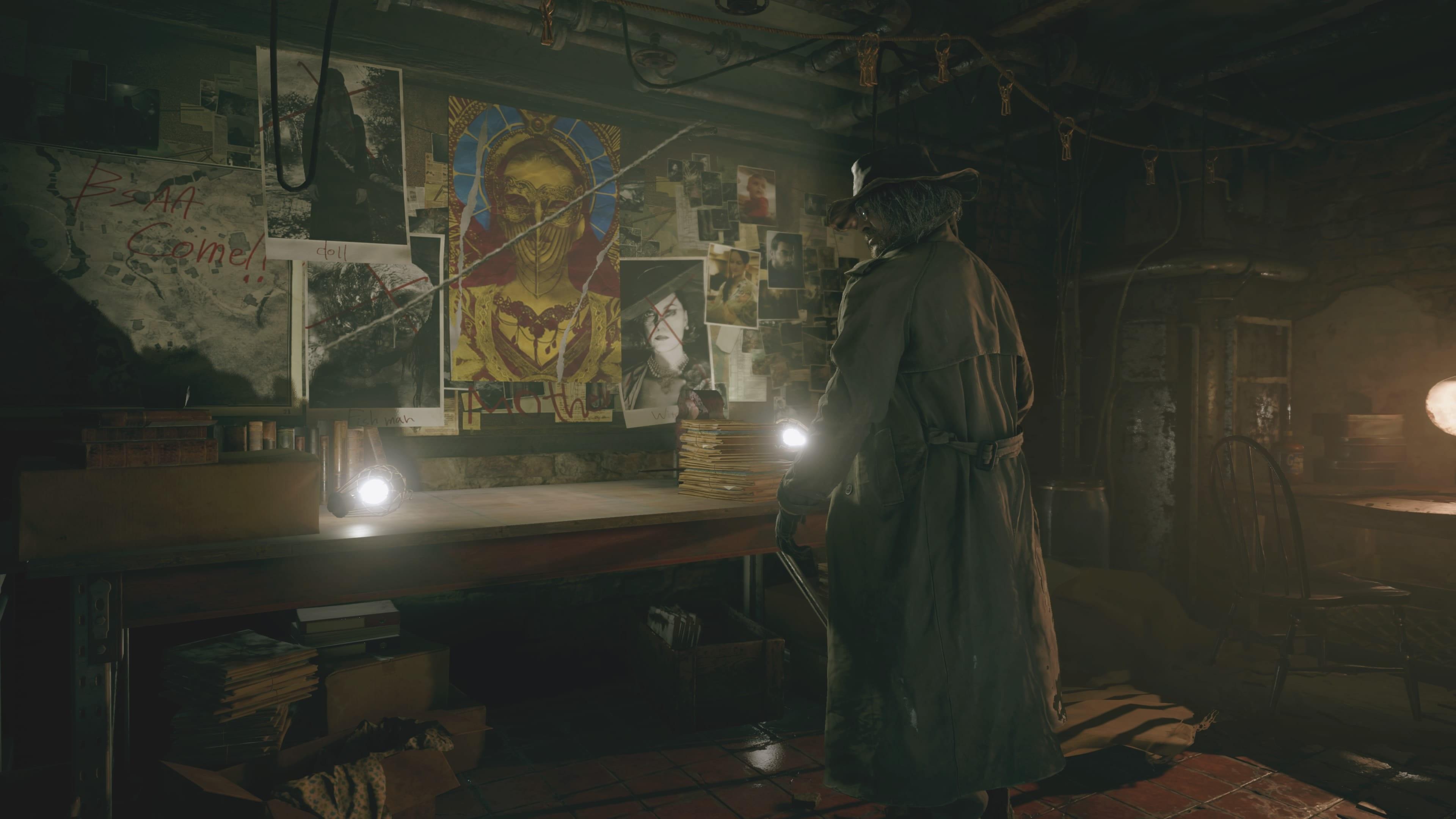 Resident Evil 8: l'usine de Heisenberg (solution)