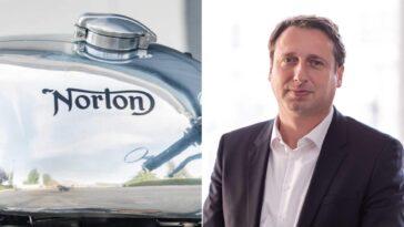 Robert Hentschel Nommé Pdg De Norton Motorcycle Par Tvs, Vittorio