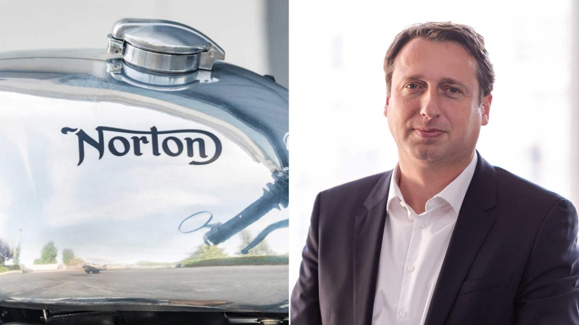 Hentschel rejoint Norton après avoir quitté Valmet Automotive Holding où il occupait le poste de directeur général depuis 2017. Image: TVS