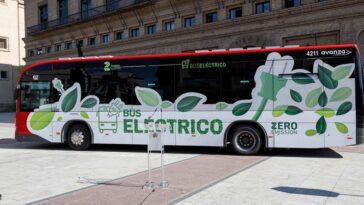 """Saragosse dit """"adieu"""" aux bus à combustion: ceux que vous achetez désormais seront 100% électriques"""