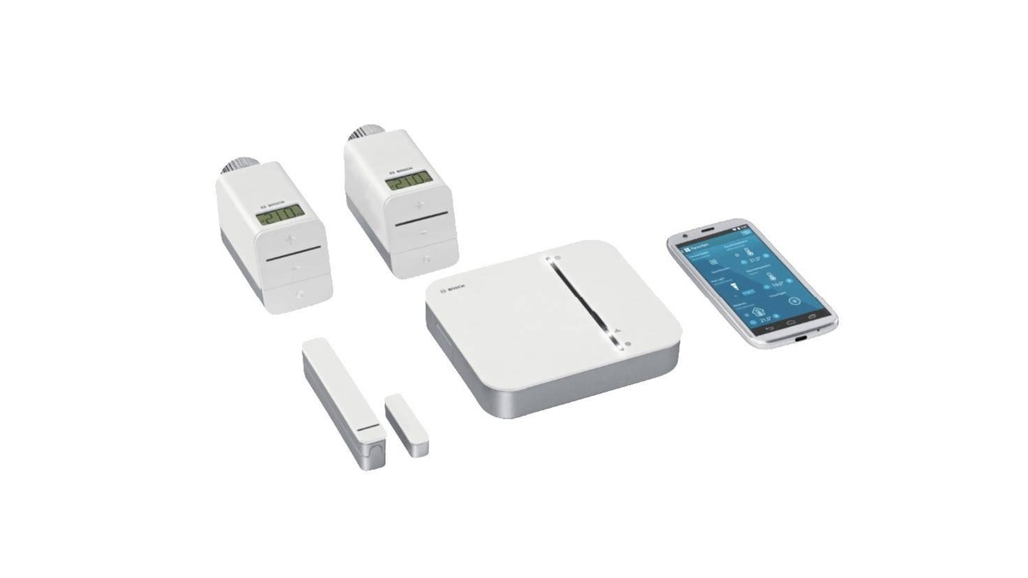 Le kit de démarrage Bosch Smart Home réagit également aux commandes d'Alexa.