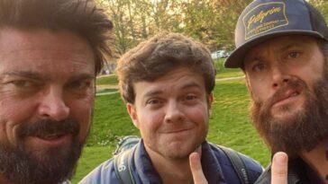 The Boys Cast Célèbre L'arrivée De Jensen Ackles Sur Le