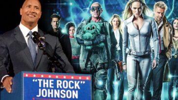 The Rock Est Président Des États Unis Dans Dc's Legends Of