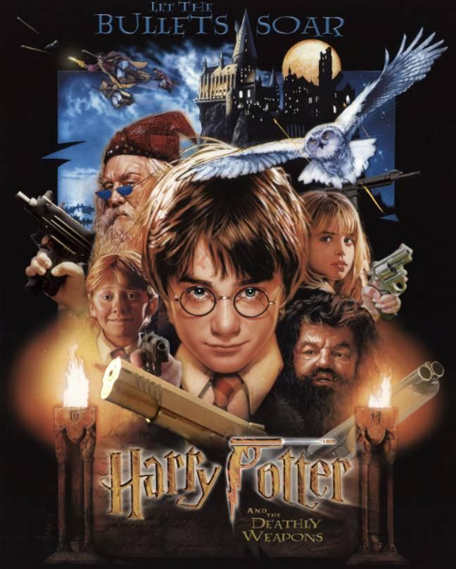 Crédit: Harry Potter avec des armes à feu