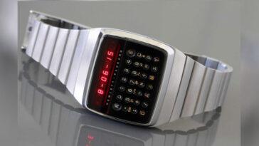 Une montre calculatrice qui pèse ce qu'un téléphone portable et coûte ce qu'un appareil pliable moderne: c'était le HP-01 Wirst Instrument