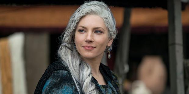 La raison la plus importante pour laquelle Lagertha et Ragnar étaient parfaits ensemble est peut-être qu'ils se comprenaient.  (Photo: Netflix)