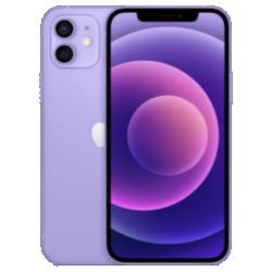 iPhone 12 violet vue de face 1