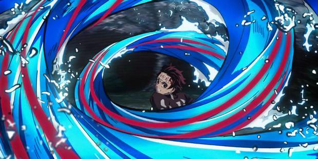 Les techniques de respiration de Tanjiro ont évolué au fur et à mesure que l'anime progresse.  (Photo: Crunchyroll)