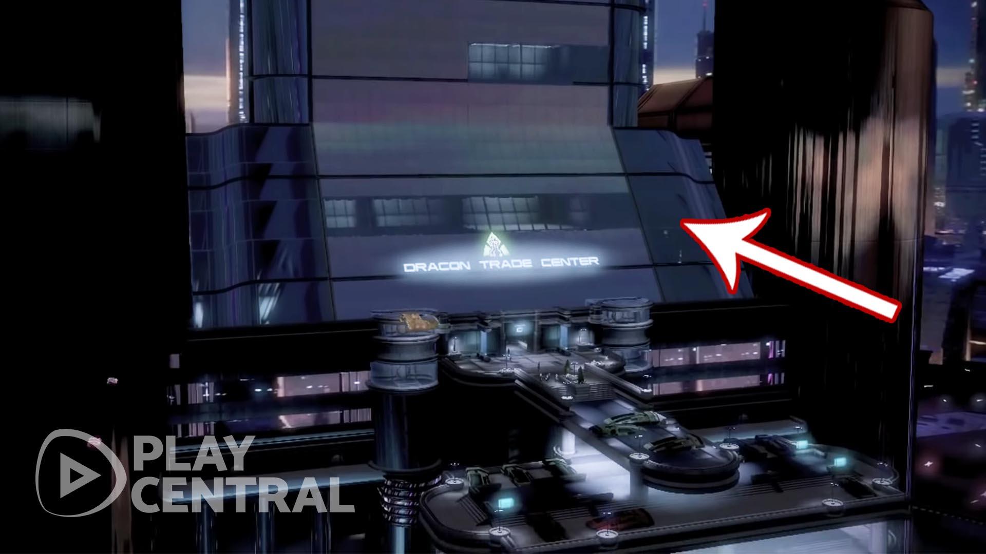 Mass Effect 2 - Trouver l'élément zéro - Trade Center