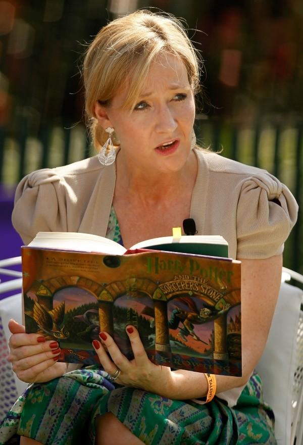 JK Rowling aurait été supplanté par Daniel Radcliffe.  Photo: (Getty)