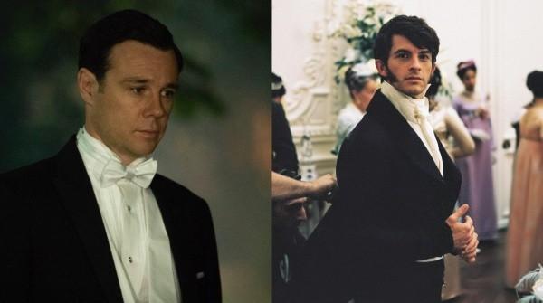 Rupert Evans et Jonathan Bailey.