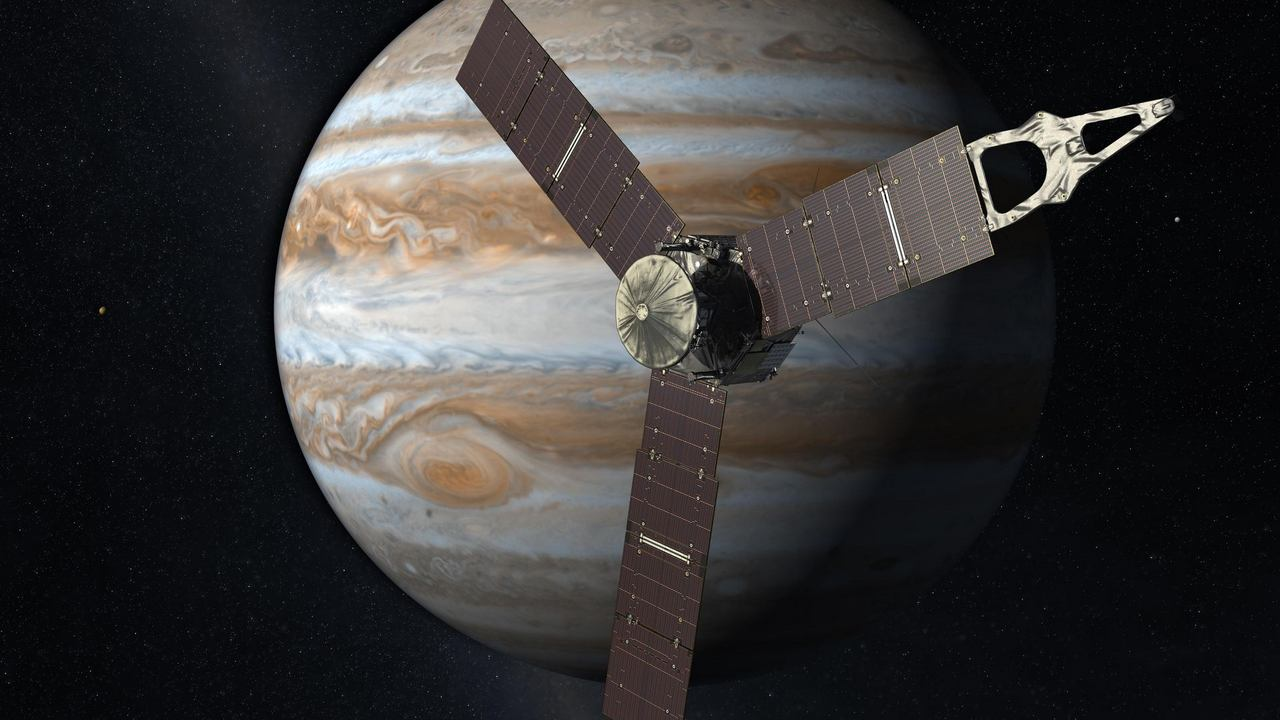 Le Vaisseau Spatial Juno De La Nasa Examinera De Plus