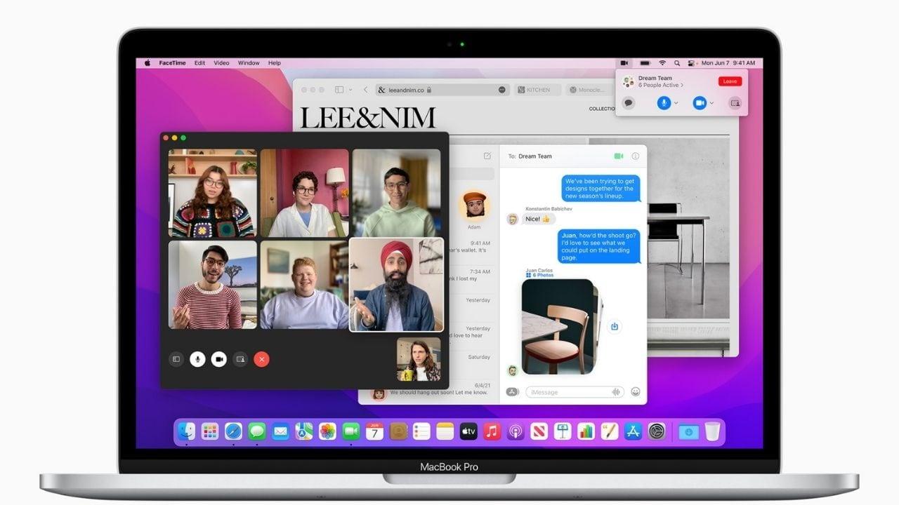 MacOS 12 s'appelle macOS Monterey, et la plus grande mise à jour à ce sujet vient avec Safari.  Image: Pomme