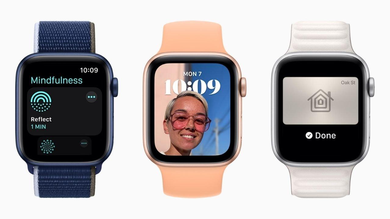 WatchOS 8 vous permet désormais de personnaliser le cadran de la montre – dans une certaine mesure.  Image: Pomme
