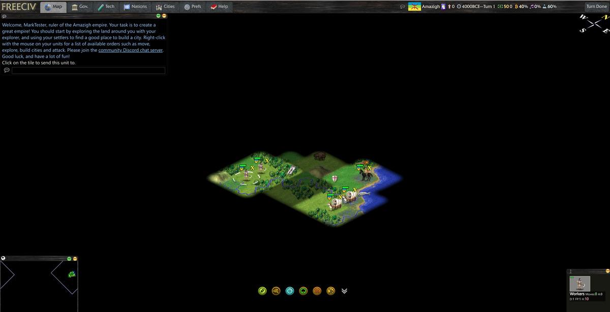 jeux en ligne freeciv sur Chromebooks