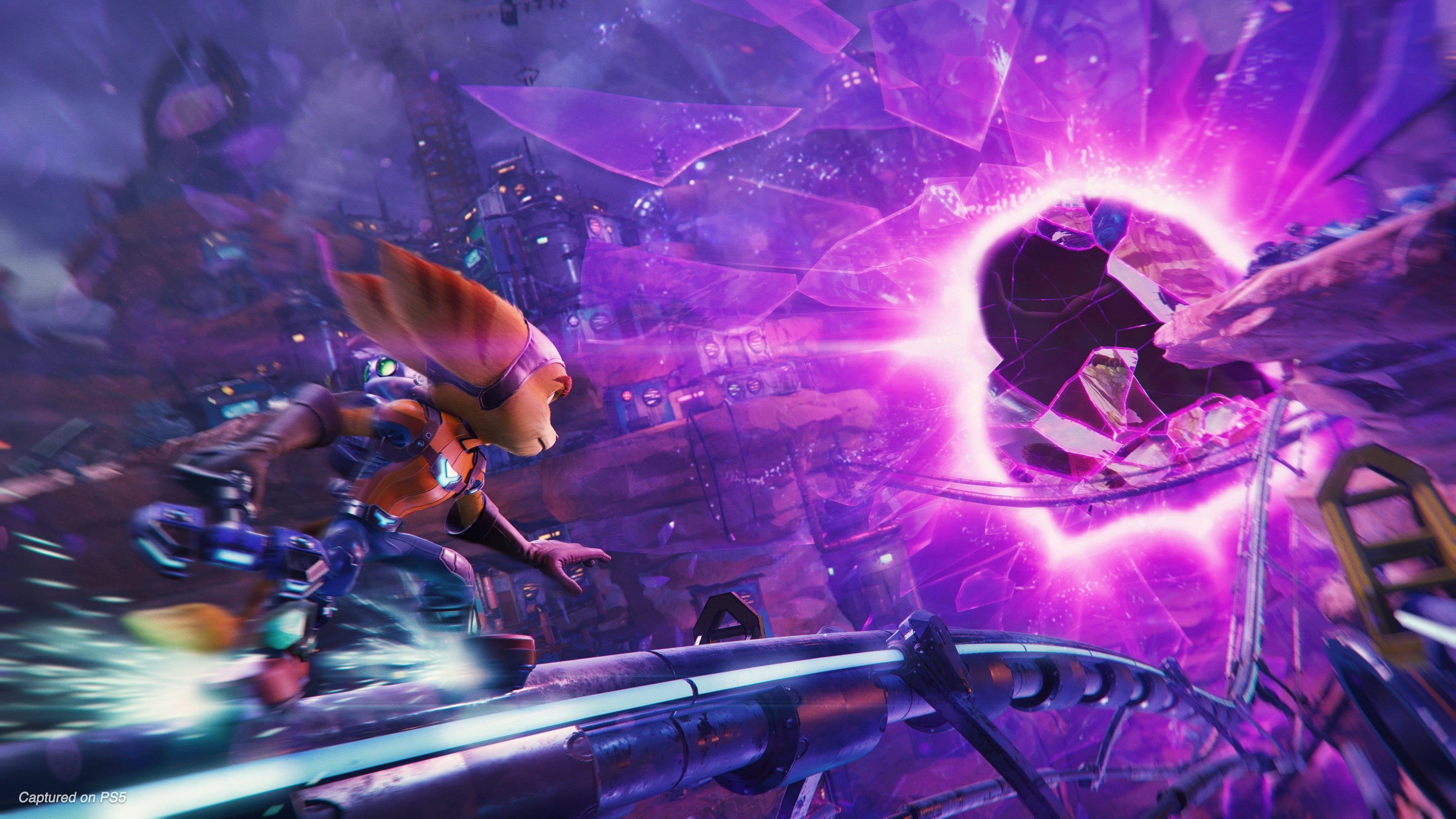 Bande-annonce du gameplay de Ratchet Clank Rift Apart PS5