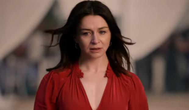 Bien que la scène ait ému tout le monde, le visage d'Amelia en dit long.  (Photo : ABC)